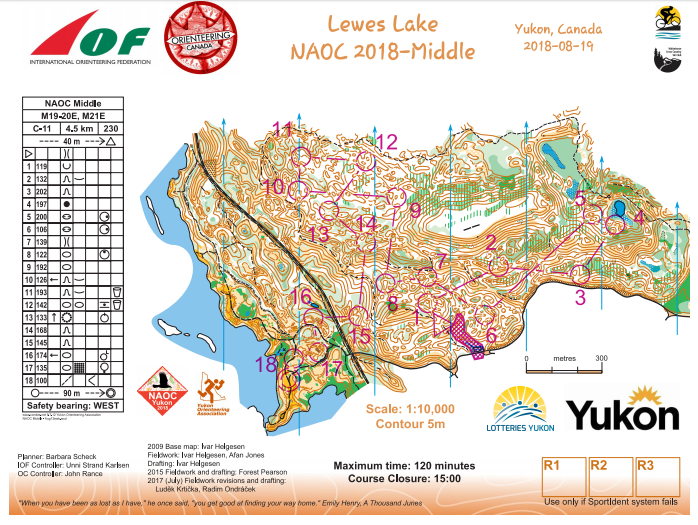 results photos and maps from the north american orienteering
